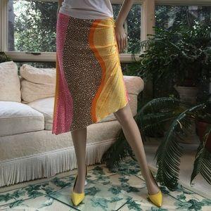Trina Turk ruched skirt